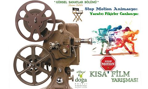 STOP MOTION KISA FİLM YARIŞMASI SONUÇLANDI